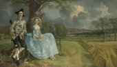 Thomas Gainsborough, Mr and Mrs Andrews c.1750