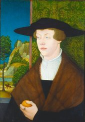 Bernhard Strigel Portrait of Hans Roth 1527