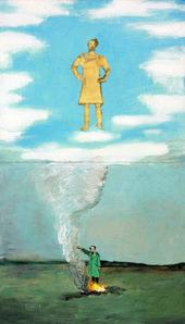 Anselm Kiefer Heroic Symbol I (Heroisches Sinnbild I) 1969–70