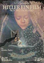 Poster for Jürgen Syberberg's Hitler: A Film from Germany (Hitler, Ein Film aus Deutschland) 1977