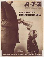 John Heartfield The Meaning of the Hitler Salute (Der Sinn des Hitlergrusses) 1932