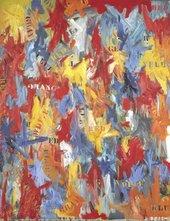 Jasper Johns, False Start 1959