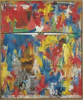 Jasper Johns, Painting with Two Balls 1960