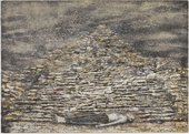 Anselm Kiefer Man under a Pyramid 1996