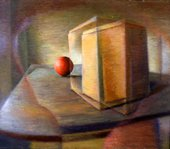 Evan Walters Still Life with Cricket Ball 1940