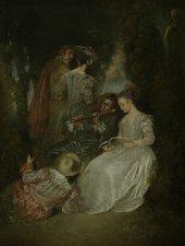 Antoine Watteau, L'Accord Parfait 1719