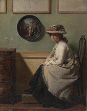 William Orpen The Mirror 1900