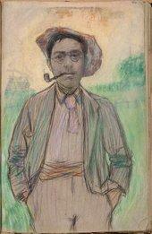 William Rothenstein Self-Portrait c.1890