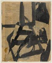 Franz Kline Untitled II c.1952