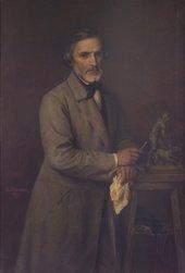 Emil Löwenthal, Portrait of John Gibson 1864