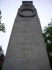 Edwin Lutyens's Cenotaph of 1919, Whitehall, London