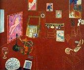 Henri Matisse The Red Studio 1911 Museum of Modern Art, New York