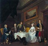 William Hogarth, The Strode Family c.1738