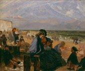 Arthur Boyd Houghton, Ramsgate Sands 1863