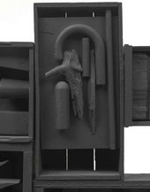 Louise Nevelson, Black Wall 1959 (detail)