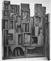 Louise Nevelson, Wall – Night Reflections c.1958 in Art International, III, No. 3–4, 1959, p.49