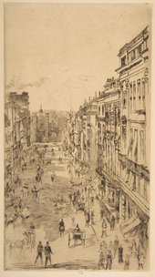 James McNeill Whistler, St. James's Street 1878