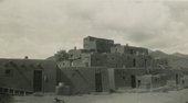 William Johnstone, Large Pueblo, Taos, New Mexico 1949–50