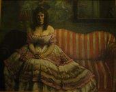 William Rothenstein Porphyria (or Porphyria's Lover) 1894