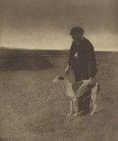 Peter Henry Emerson, The Poacher – A Hare in View. [Suffolk.] 1888