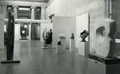 Installation shot of Barbara Hepworth Gift, Tate Gallery, 1967