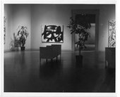 Installation view of The Collection of Mr and Mrs Ben Heller, Baltimore Museum of Art, 1961