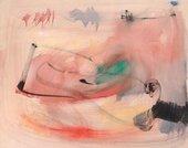 William Johnstone, Pink Landscape 1954
