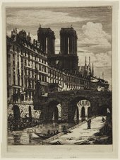 Charles Meryon, Le Petit Pont 1850