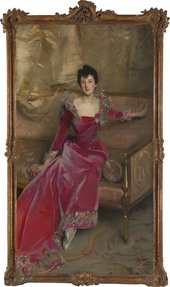 John Singer Sargent, Mrs. Hugh Hammersley 1892