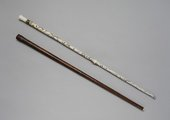 Georg Henrich Scherer, Walking-stick flute/oboe, c.1750–7