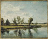 John Constable Water-Meadows near Salisbury 1829