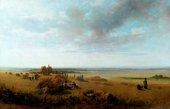 Peter De Wint, A Cornfield c.1815