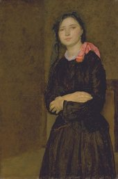 Gwen John Dorelia in a Black Dress 1903–4