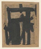 Franz Kline, Untitled 1951