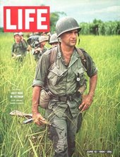 Larry Burrows, Cover of Life, 12 June 1964