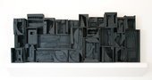 Louise Nevelson, Sky Cathedral #2 1957, Formerly known as Wall