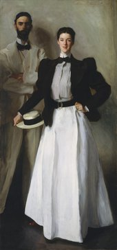 John Singer Sargent, Mr and Mrs I.N. Phelps Stokes 1897