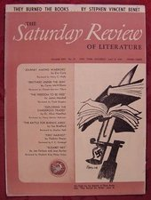 Bernard Perlin, Cover illustration, Saturday Review of Literature, 8 May 1943