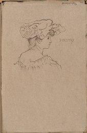 William Rothenstein Dorothy c.1890
