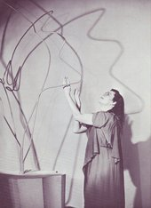 Barbara Hepworth, Apollo 1951, with Peggy Ashcroft