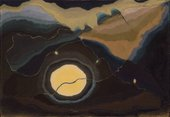 Arthur Dove, Me and the Moon 1937