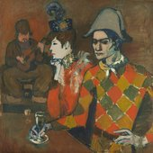 Pablo Picasso, At the Lapin Agile 1905
