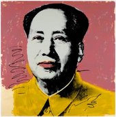 Andy Warhol [no title] from the series Mao Tse-Tung 1972