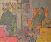 Vanessa Bell Conversation at Asheham House 1912