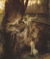 Herbert Draper The Lament for Icarus 1898