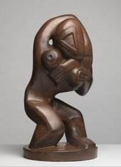 Henri Gaudier-Brzeska, Red Stone Dancer c.1913