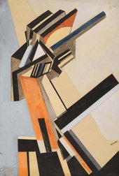 Percy Wyndham Lewis Portrait of an Englishwoman 1913 or 1914