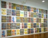 Gordon Matta-Clark Wallspaper Installation 1973