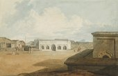 J.M.W. Turner Hoollay Deedy, or new Sally-Port in the Inner Rampart of Seringapatam, where Tippoo Sultaun was Killed, on the 4th May 1799 c.1800