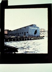 Gordon Matta-Clark Day's End (Pier 52) (Exterior with Ice) 1975